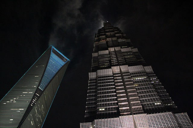mrakodrapy šanghaj